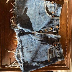 Levi's Shorts - LEVIS 501 cut off shorts